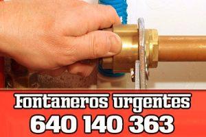 Fontanero en Alguazas