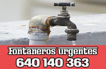 Fontanero Arganzuela Madrid